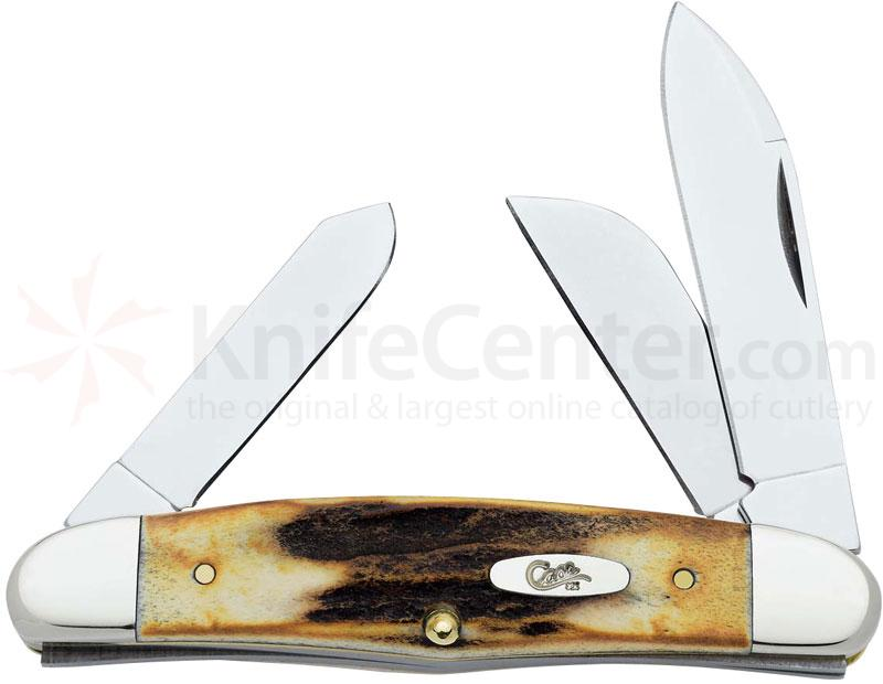 Case Humpback Stockman 3-5/8 inch Closed (53046 SS)