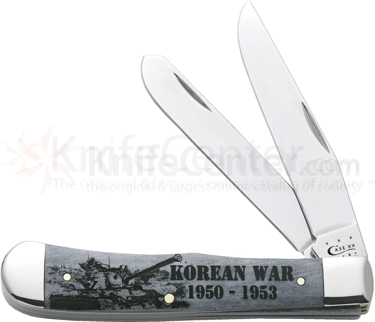 Case Image XX War Trapper (Korean War) 4-1/8 inch Closed (6254 SS)