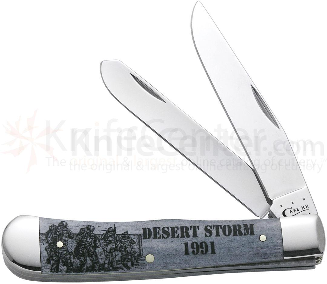 Case Image XX War Trapper (Desert Storm) 4-1/8 inch Closed (6254 SS)