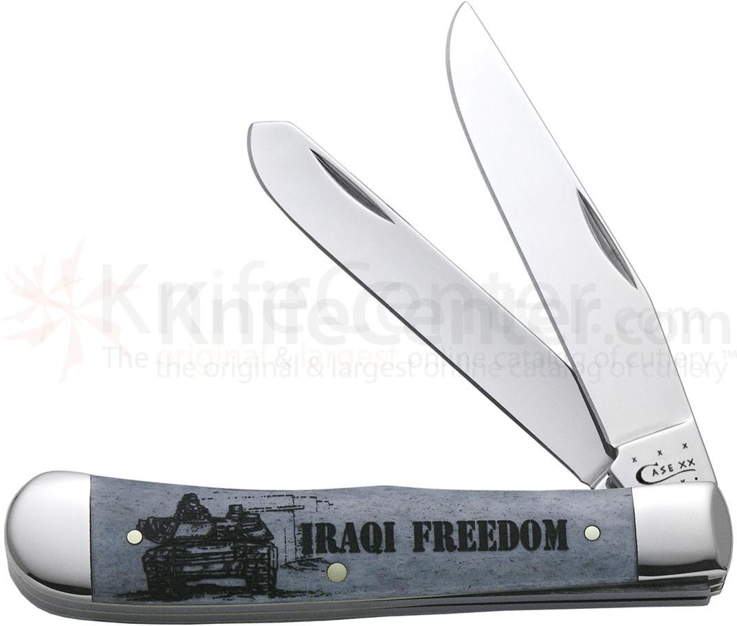 Case Image XX War Trapper (Iraqi Freedom) 4-1/8 inch Closed (6254 SS)