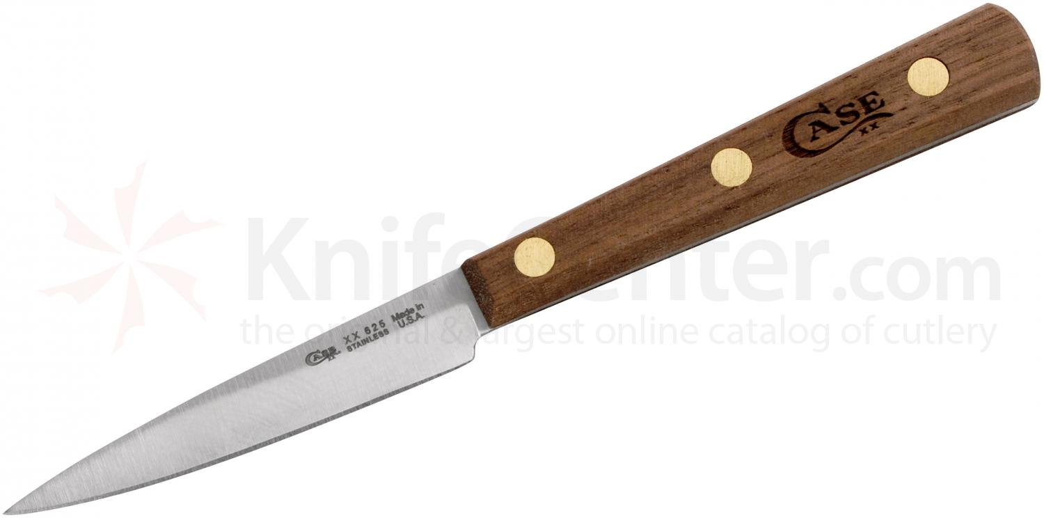 case household cutlery 3 quot spear point paring knife walnut