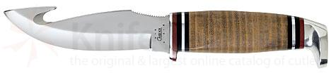 Case Gut Hook Hunter 8.5 inch Overall Leather Handle 4.0 inch Blade