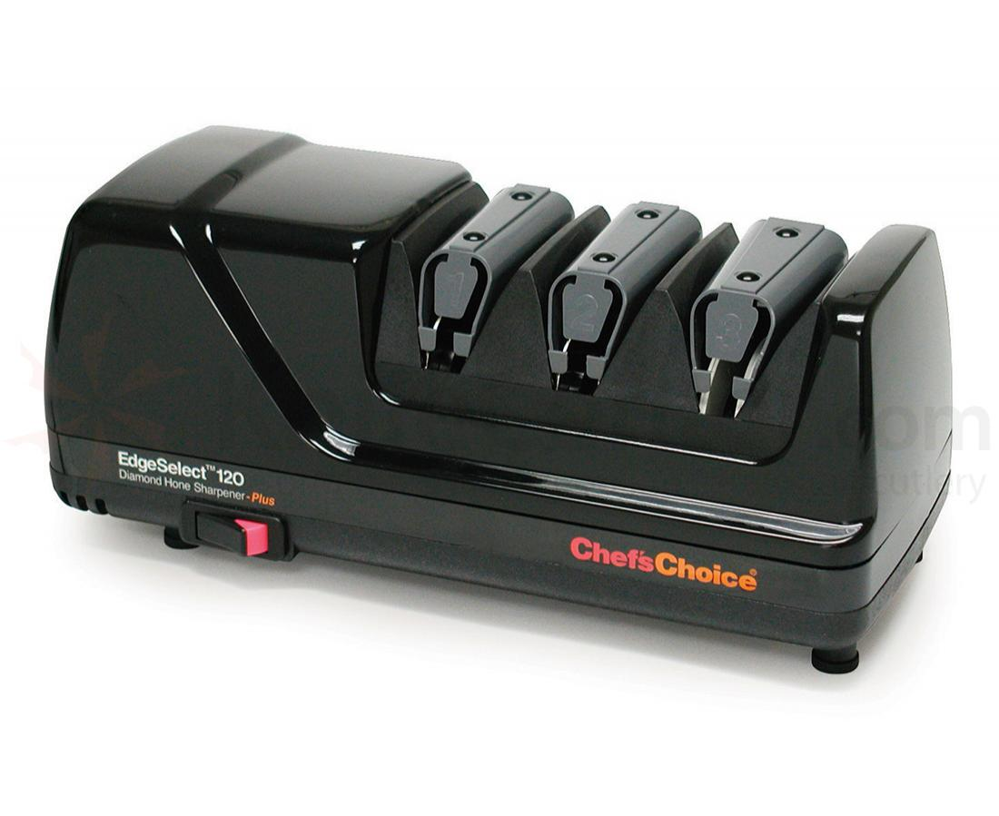 Chef's Choice EdgeSelect Black Case Deluxe 3 Stage Electric Diamond Sharpener