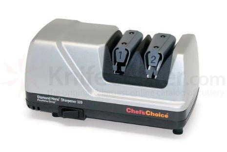 Chef's Choice Flex/Hone Platinum Case Professional Electric Knife Sharpener