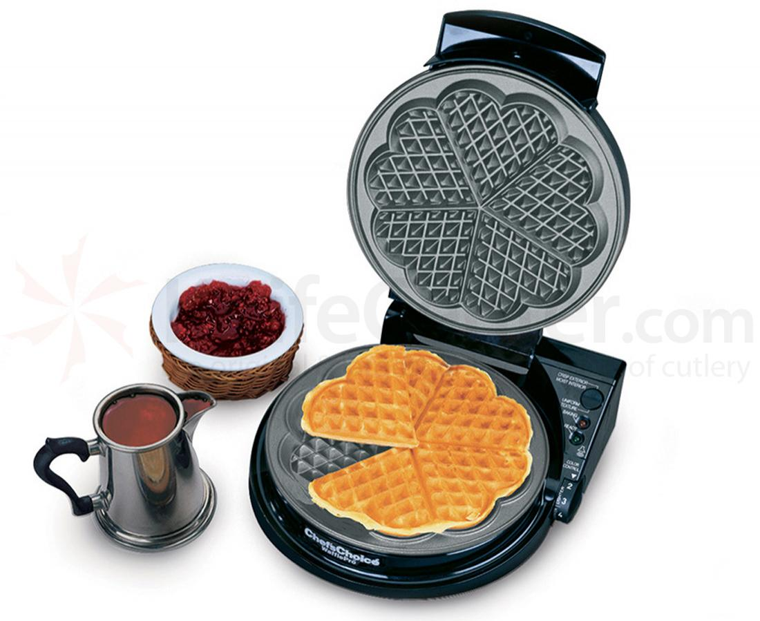 Chef's Choice WafflePro All Electric with Warning Beeper and Lights