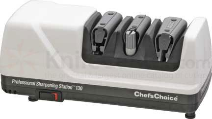 Chef's Choice Professional Sharpening Station White Case Electric Knife Sharpener