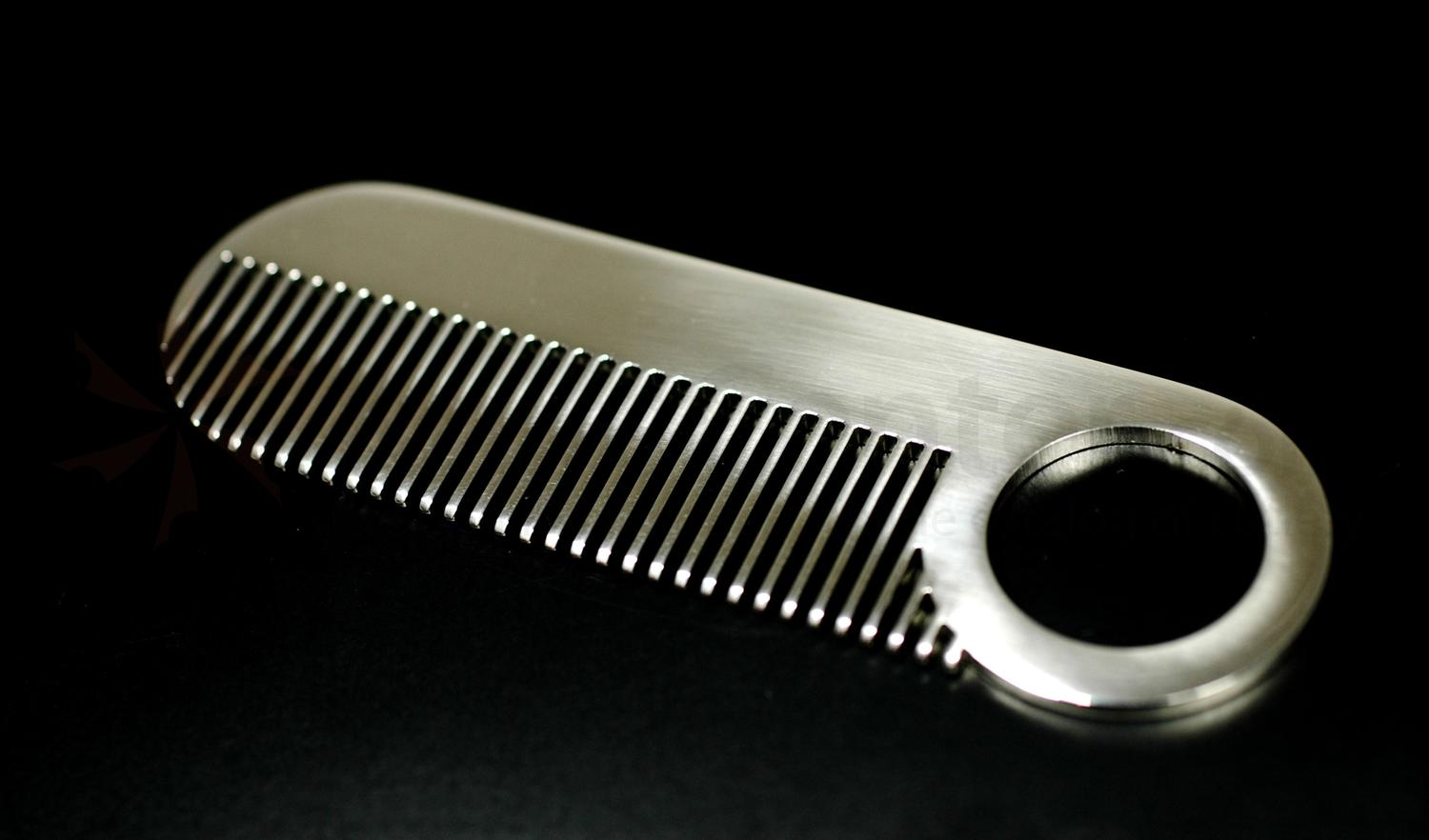 Chicago Comb Model 2 Beard And Mustache Comb Mirror