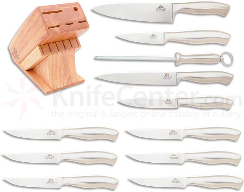 Chicago Cutlery Insignia Steel 12 Piece Knife Block Set