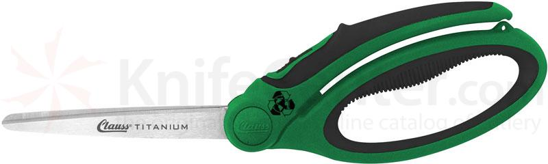 Clauss Enviro-Line Titanium Bonded 9 inch Spring-Assisted Shear (Recycled Materials)