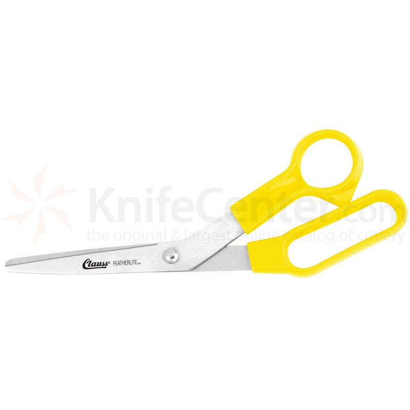 Clauss 8.5 inch Stainless Steel Featherlite™ Bent Shear Yellow