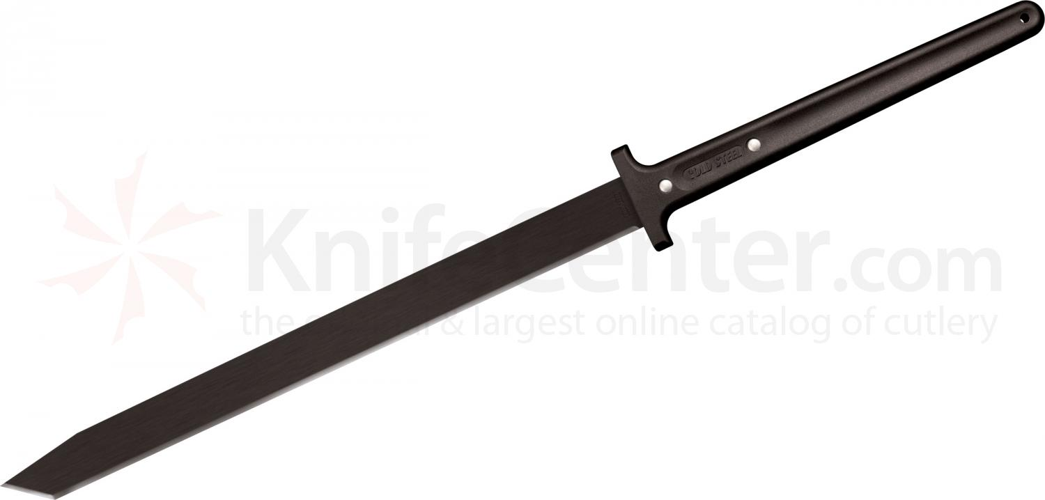 Cold Steel 97THKLS Two Handed Katana Machete 24 inch Blade, Polypropylene Handle, Cor-Ex Sheath