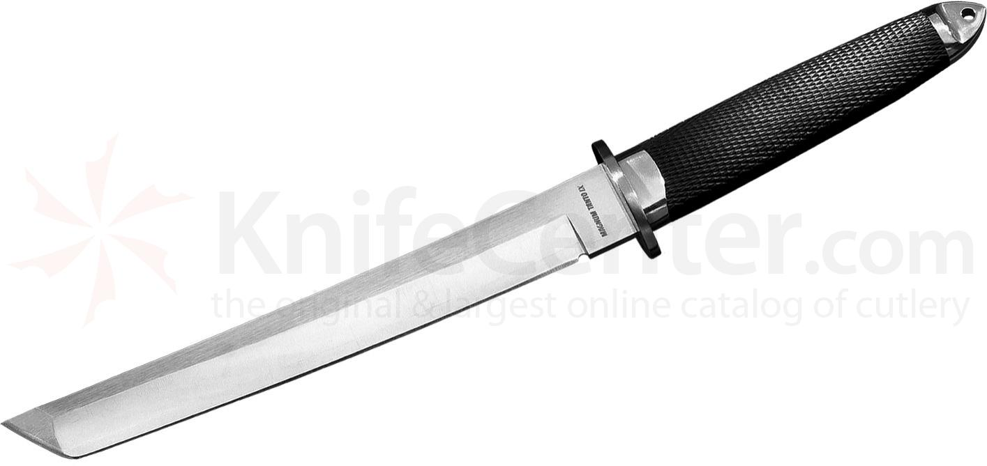 Cold Steel 13MBIX Magnum Tanto IX Fixed 9 inch San Mai III Blade, Kray-Ex Handle, Leather Sheath
