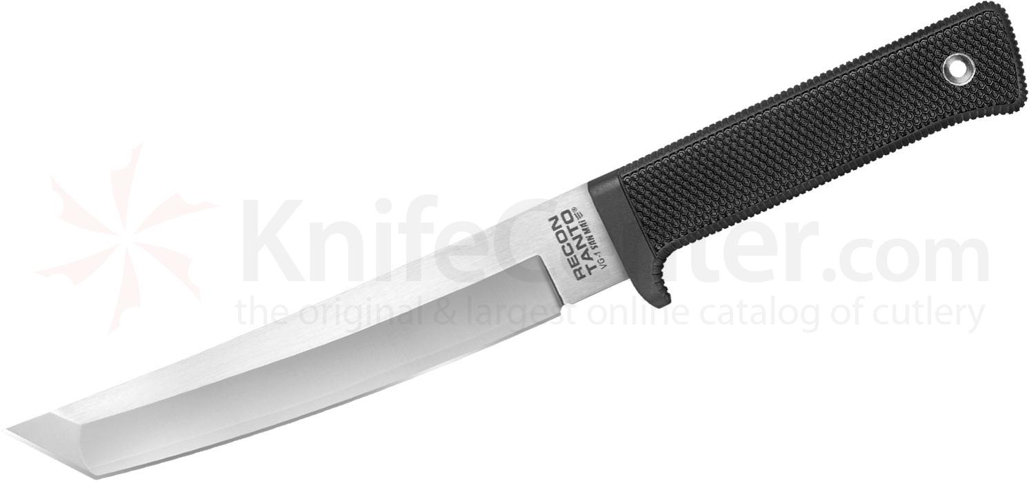 Cold Steel 13RTSM Recon Tanto Fixed 7 inch San Mai III Blade, Kray-Ex Handle, Secure-Ex Sheath