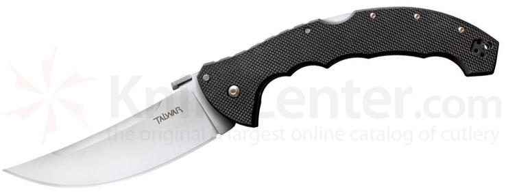Cold Steel 21TTXL Talwar Folding Knife 5-1/2 inch Plain Blade, G10 Handles