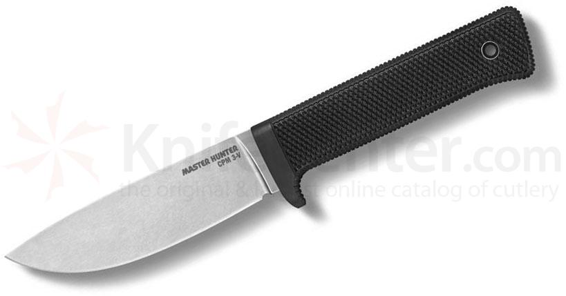 Cold Steel 36CB Master Hunter Fixed 4.5 inch CPM-3V Stonewashed Blade, Kray-Ex Handle, Secure-Ex Sheath