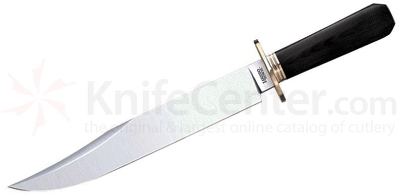 Cold Steel 39LLBMT Laredo Bowie Fixed 10-1/2 inch O-1 Blade, Micarta Handle, Secure-Ex Sheath