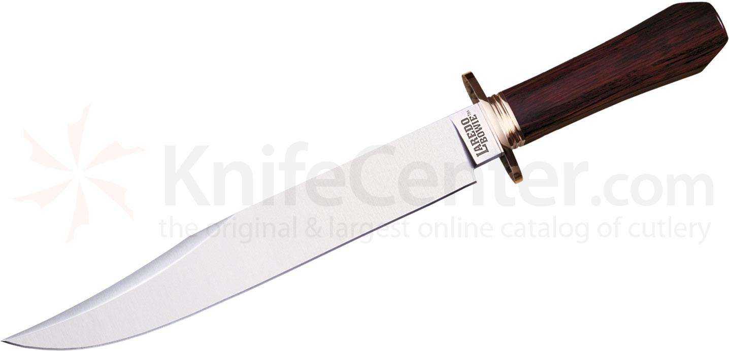 Cold Steel 39LLBT Laredo Bowie Fixed 10-1/2 inch O-1 Blade, Faux Cocobolo Handle, Secure-Ex Sheath