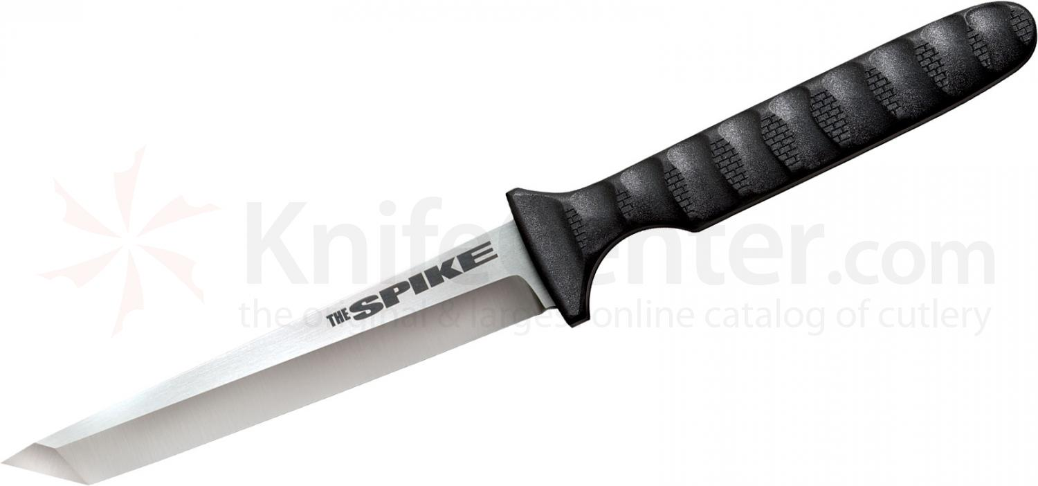 Cold Steel 53NCT Tanto Spike 4 inch Blade, Faux G10 Handle, Secure-Ex Sheath