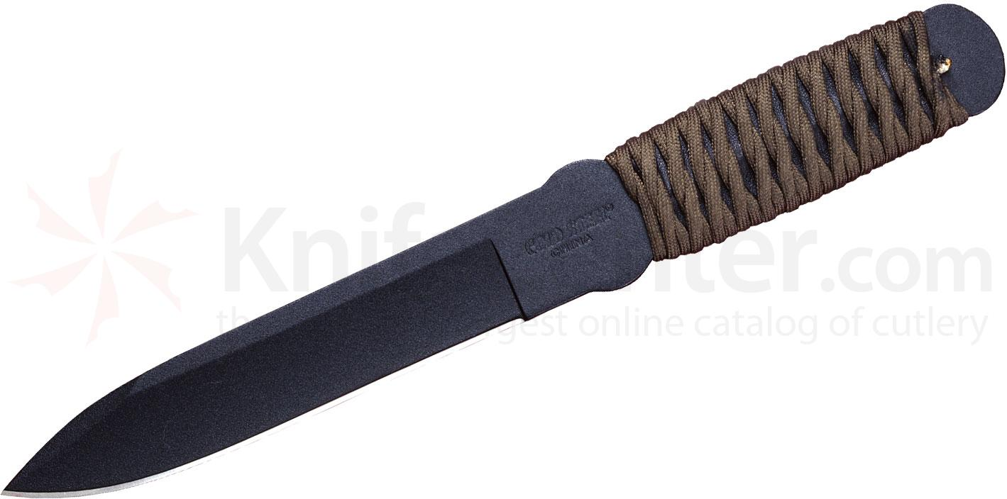 Cold Steel 80TFTC True Flight Thrower 12 inch Throwing Knife, Cord Wrap Handle