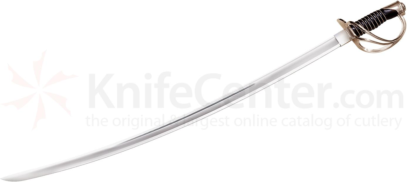 Cold Steel 88HCSL Left Handed U.S. 1860 Heavy Cavalry Saber 41.5 inch Overall, Leather Handle
