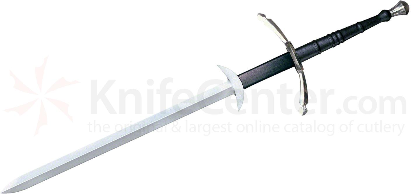 Cold Steel Two Handed Great Sword 39-7/8 inch Carbon Blade, Leather Wrapped Handle