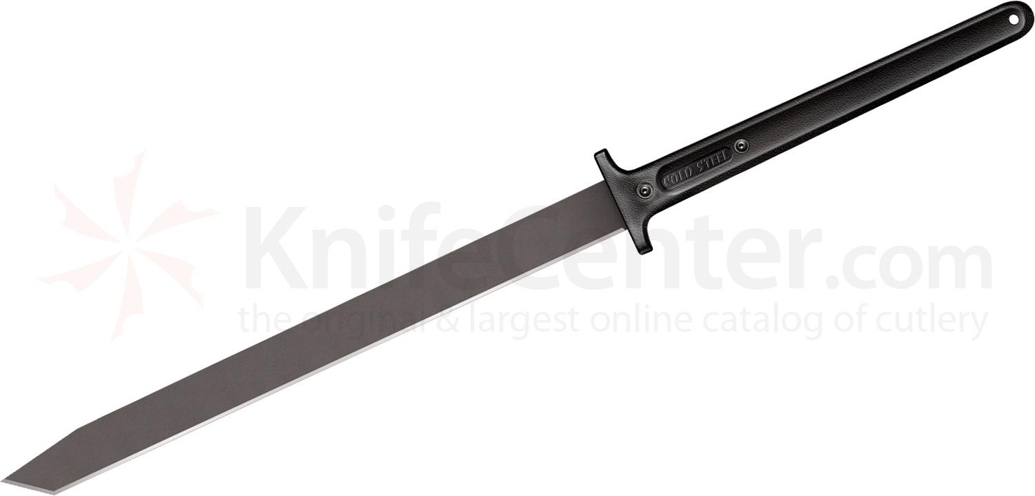 Cold Steel 97THKL Two Handed Katana Machete 24 inch Carbon Steel Blade, Polypropylene Handles, No Sheath