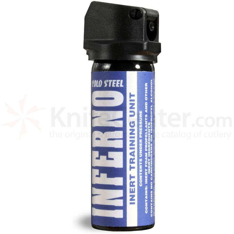Cold Steel Inferno Pepper Spray 2.5 oz. (70 Grams) Inert Training Unit
