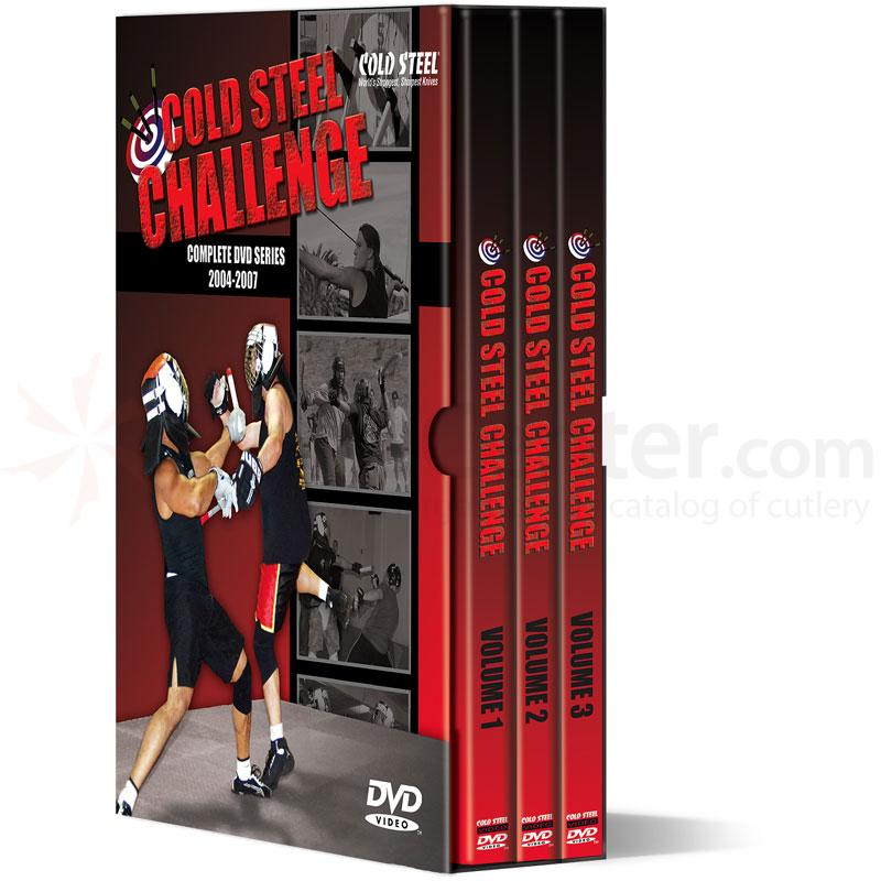 Cold Steel Challenge Complete DVD Series 2004-2007