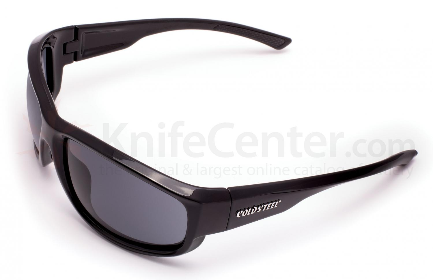 Cold Steel EW21 Battle Shades Mark-II Eyewear, Gloss Black Sunglasses