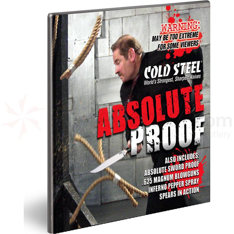 Cold Steel Absolute Proof DVD Free with $50 Cold Steel Order