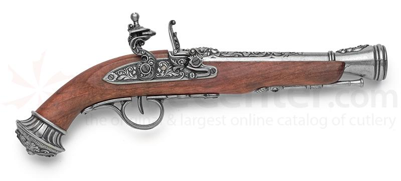 Spanish Made 18th Century Replica Blunderbuss Flintlock Pistol
