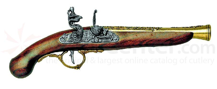 German Early 1700's Flintlock Pistol