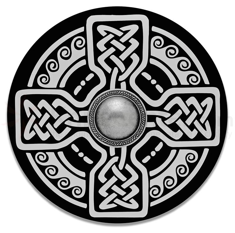 Spanish Made Wooden Celtic Shield