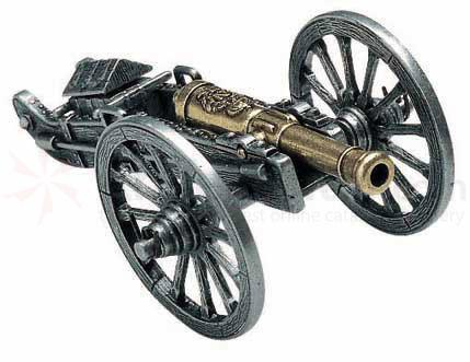Spanish Made Miniature Napoleon Cannon