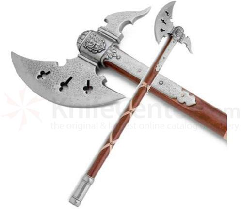 Classic Medieval Battle Axe Knifecenter Ar22636