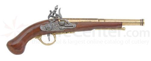 English Dueling Flintlock Pistol