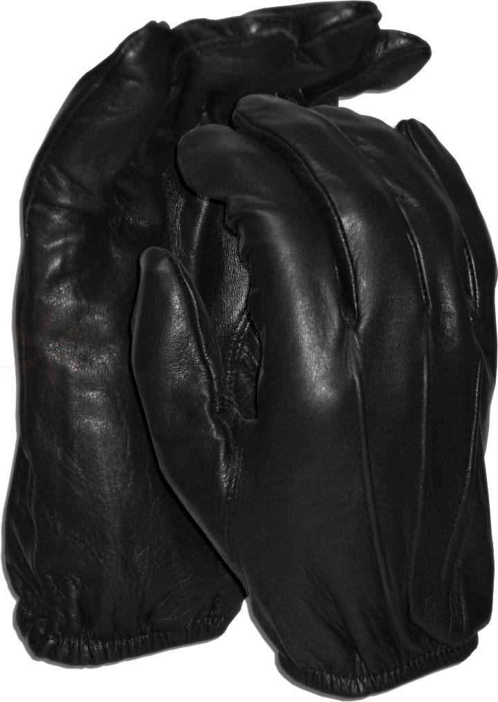 Worldwide Protective Products LE-UNL Unlined Law Enforcement Patrol Gloves, Female Medium, Black