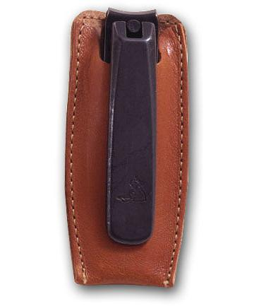 Concord Executive Toe Nail Nipper, Tan Italian Leather Case