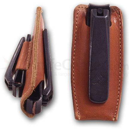 Concord Executive Nail and Toe Nipper Set, Brown Leather Case