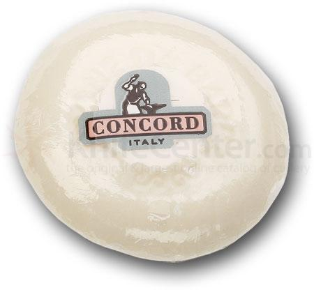 Concord Almond Shave Soap Small Bar 2.5 inch Diameter
