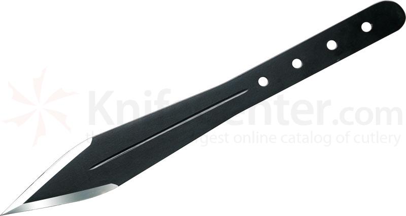 Condor Tool & Knife CTK1007-14HC Dismissal Throwing Knife 8 inch Black Carbon Steel Blade