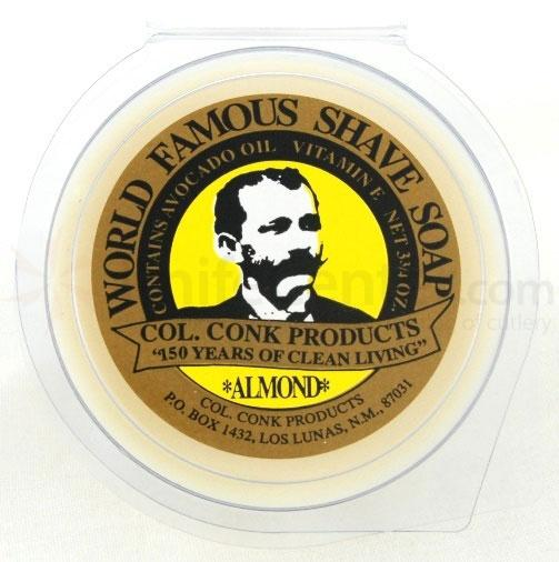 Colonel Conk #158 Super Size Almond Shave Soap 3.75 oz.