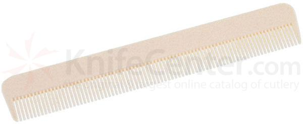 Colonel Conk White Moustache and Beard Comb
