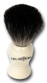 Colonel Conk Standard Pure Badger Shave Brush Off White Handle