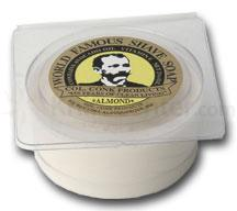 Colonel Conk Regular Almond Fragrance Shave Soap 2-1/4 inch Diameter with Glycerine Base