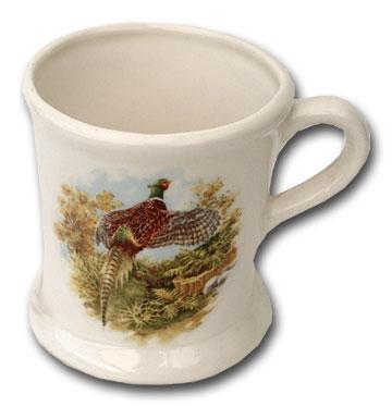 Colonel Conk Shaving Mug with Pheasant