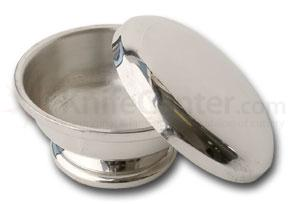 Colonel Conk Pewter Shave Bowl