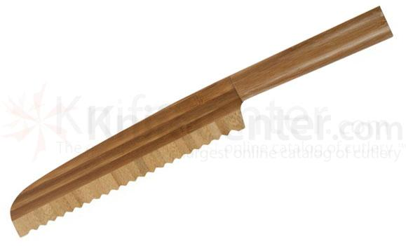 Core Bamboo 8 inch Bread Slicer, Bamboo Blade and Handle