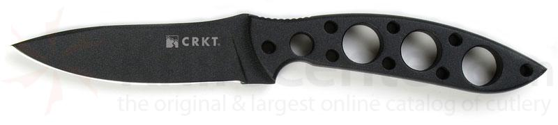 Columbia River Kommer I.F.B. 3.82 inch Carbon Steel Plain Blade
