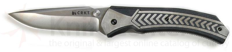 Columbia River Lift Off Folding Knife Assisted 3.5 inch Plain Blade